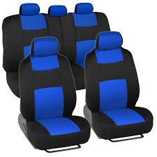 nissan sentra seat covers car seat covers for nissan sentra 2 tone blue u0026 black w split