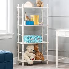 White Nursery Bookcase by Classic Playtime Spindle Bookcase Hayneedle