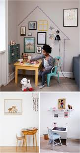 Vintage Kids Desk by Small Living Spaces Home Office Beach Style With Small Desk Drawer