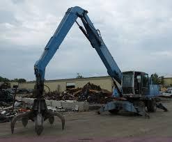 2005 terex fuchs mhl340 rubber tire excavator item bs9643
