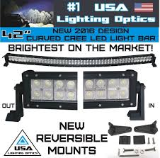 Brightest Led Light Bar by Amazon Com 2016 1 42 Inch Curved 240w Cree Led Light Bar By Usa