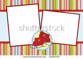 christmas card photo template stock images royalty free images