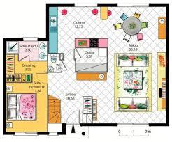plan maison 7 chambres plan maison 7 chambres 6 maison de 7 pi232ces avec cuisine