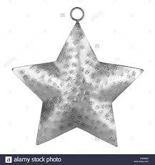 silver shiny metal ornament brushed metallic