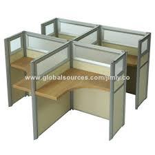 Office Desk Dividers Aluminum Glass Office Desk Partition Global Sources