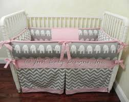 Alabama Bed Set Baby Crib Bedding Set Addilyn Baby Bedding Pink