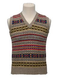 fair isle the hawkesbury fair isle sweater 1930s fairisle slipover vest tank