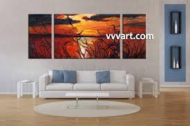 Oversized Wall Art by Large Triptych Wall Art Shenra Com