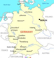 Map Of Germany And Austria by Map Of Germany With Cities And Towns Brilliant Germany Map