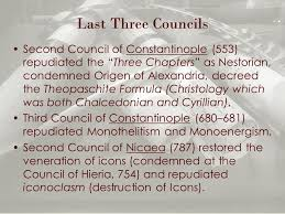Council Of Constantinople 553 Holy Tradition Part 2 Being Seen By Them During Forty Days And