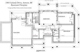 floor plan basement home design planning simple with floor plan