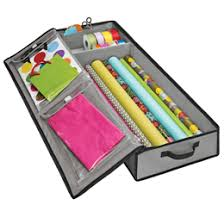 grey wrap tote organizer the container store