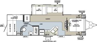 Rockwood Trailers Floor Plans 2010 Forest River Rockwood 8316ss Travel Trailer Riceville Ia