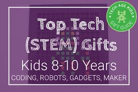 top tech stem gifts for aged 8 9 and 10 coding robots