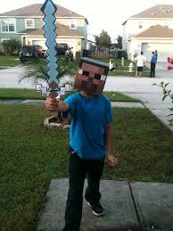 Craft Halloween Costumes Steve Minecraft Halloween Costume