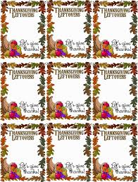 free thanksgiving printouts hollyshome family life thanksgiving leftovers tag free printable