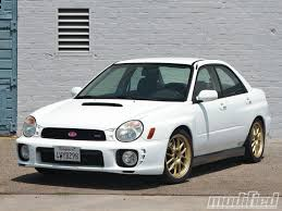 lowered subaru impreza wagon 2002 subaru impreza wrx hsd hr coilovers modified magazine