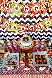 crafty chevron thanksgiving table ideas