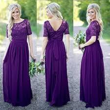 royal purple bridesmaid dresses get cheap vintage bridesmaid dress purple aliexpress