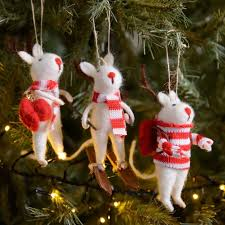 Christmas Mice Decorations Mice Christmas Tree Decorations Harrod Horticultural