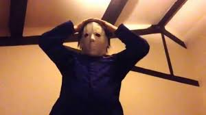 latex michael myers style mask halloween horror movie high quality