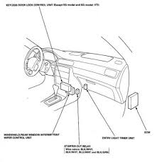 central locking relay sos help civic5 honda civic ma mb mc