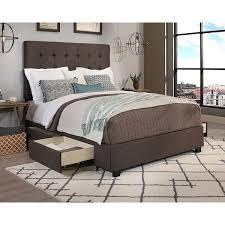 Beds With Headboard Storage Republic Design House Queen Size Manhattan Grey Headboard Storage