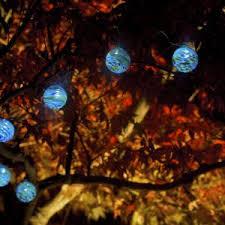 solar string lights glow sea glass solar string lights allsop home garden