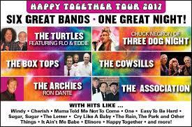 happy together tour 2017 u2013 tickets u2013 ives concert park u2013 danbury