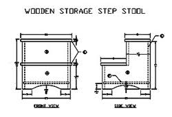 Free Wooden Folding Step Stool Plans by Free Step Stool Patterns Woodworking Plans And Information At