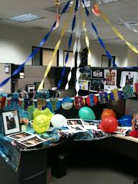 decorating coworkers desk for birthday cubicle office decorating ideas google search office cubicle
