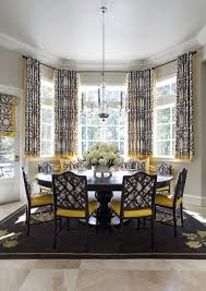 Curtains Dining Room Ideas 145 Best Bay Window Images On Pinterest Curtains Window