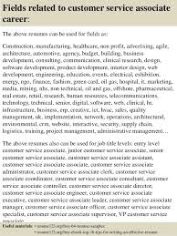 resume format for customer service executive top 8 customer service associate resume samples