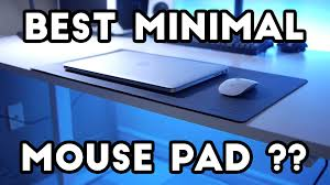 best gaming desk pad satechi desk mat review perfect sized mouse pad youtube