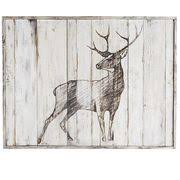Deer Wall Decor Sketched Deer Wall Decor Pier 1 Imports
