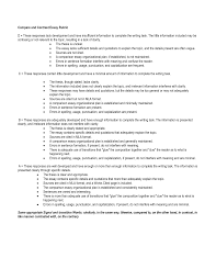 Comparison And Contrast Essay Outline Examples Statement Generator