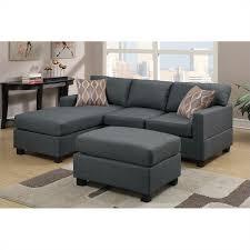 Reversible Sectional Sofa Zoe S Furniture Poundex Bobkona 3 Reversible