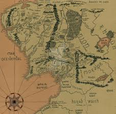 Map Middle Earth Map Of Middle Earth By Hannajima Chan On Deviantart