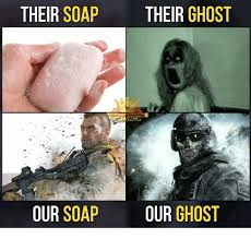 Soap Meme - their soap their ghost our soap our ghost meme on esmemes com