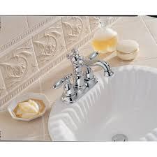 Delta Linden Bathroom Faucet by Delta 2555 Victorian Centerset Bathroom Faucet With Diamond Seal