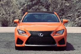 rcf lexus orange rc f is the performance halo of the lexus rc coupes the san