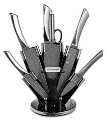 stainless steel kitchen knives set imperial collection 9 stainless steel knife set with