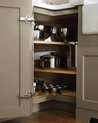 Kitchen Cabinet Lazy Susan Alternatives How To Deal With The Blind Corner Kitchen Cabinet Live Simply By
