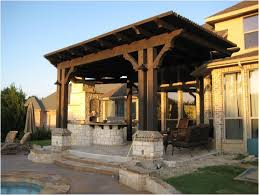 Small Backyard Pergola Ideas Backyards Modern Pergola Outdoor Kitchen Attached To House