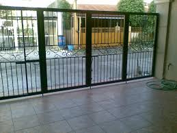 Interior Gates Home Gate And Fence Electric Security Gates Sliding Driveway Gates