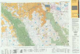 Colorado Hunting Units Map by Co Surface Management Status Canon City Map Bureau Of Land