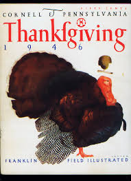 happy thanksgiving football programs featuring turkey day