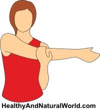 frozen shoulder treatment simple exercises illustrations