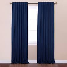 curtain hanging options amazon com best home fashion thermal insulated blackout curtains