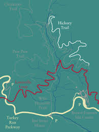 Great Loop Map Hickory My New Favorite Trail The Parklands